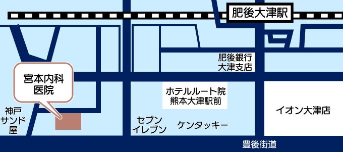 宮本内科医院地図